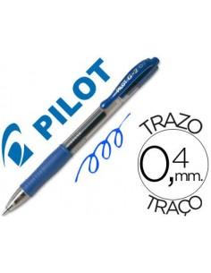 Boligrafo G-2 PILOT 07 azul