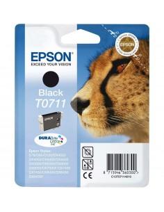 Cartucho Epson T0711 negro.