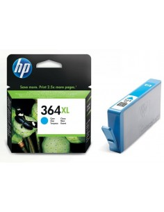 Cartucho HP 364XL Cian de...