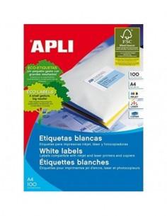 C/100 Etiquetas APLI Nº8...