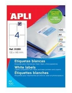C/100 Etiquetas APLI nº4...