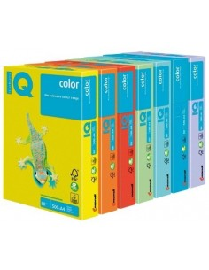 Papel A4 80gr. IQ Amarillo...