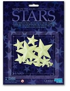 Glow 3D star