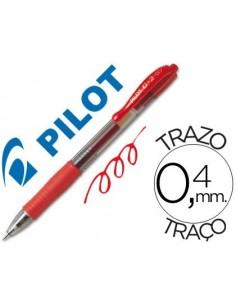 Boligrafo G-2 PILOT 07 rojo