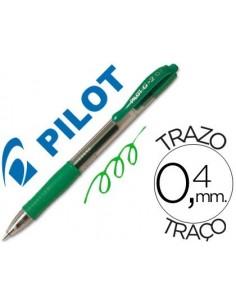 Boligrafo verde G-2 PILOT 07