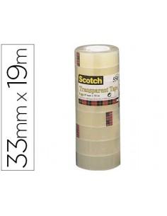 Paq/8 cinta adh. SCOTCH 550...