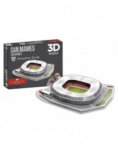 Puzzle maqueta Athletic 3D...