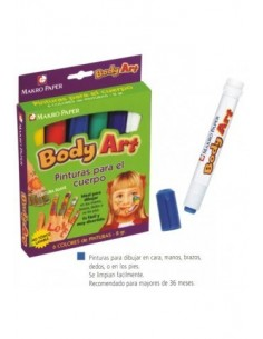 C/6 Pinturas Body art R:...