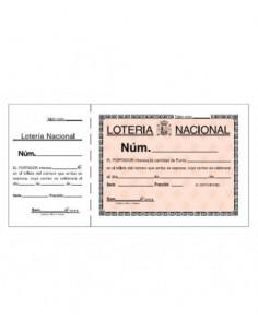 "Talonario ""Lotería"" 110 x..."