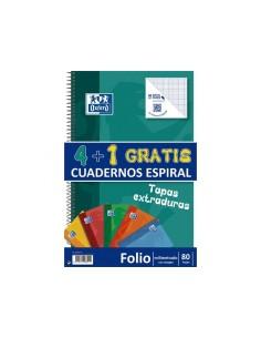 Pack Cuaderno 4+1. Tapa...