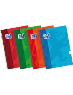 Cuaderno espiral fº 4x4 80h...