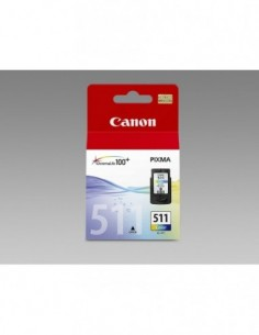 Cartucho Canon CL-511 Color...