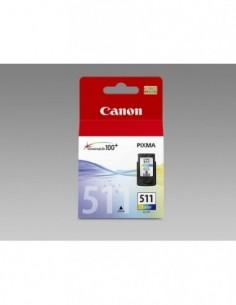 Cartucho Canon CL-511 Color...
