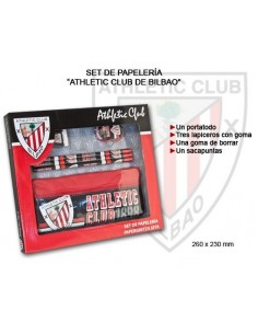 Set papeleria Athletic club...