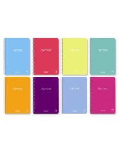 Cuaderno Fº 4x4 80h 90grs...