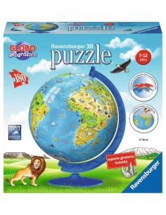 puzzle 3D Globo geográfico