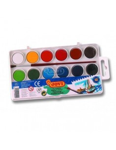 Acuarelas jovi 12 Colores...
