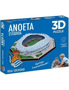 Puzzle Estadio 3D Anoeta...
