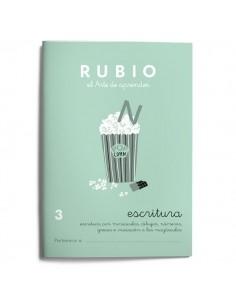 Cuadernillos Rubio escritura 3