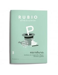 Cuadernillos Rubio escritura 5