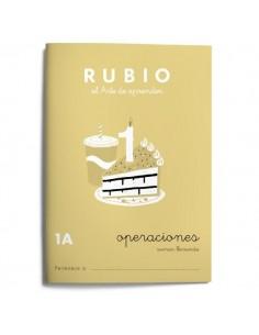 Cuaderno operaciones Rubio 1A