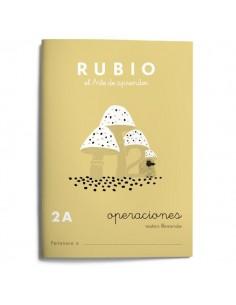 Cuaderno operaciones Rubio 2A
