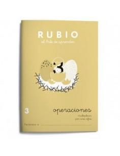 Cuaderno operaciones Rubio 3