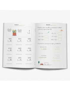 Cuaderno operaciones Rubio 3A