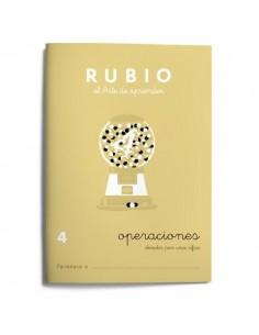 Cuaderno operaciones Rubio 4