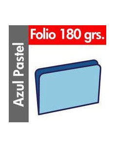 Paq/50 Subcarpeta Fº azul...
