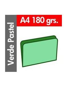 Paq/50 Subcarpeta A4 Verde...