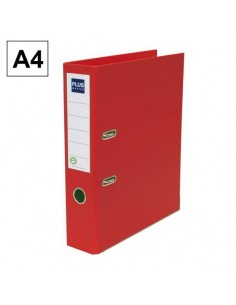 Carpeta plus ROJO 2A. A4...