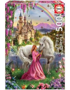 Puzzle 500 piezas, Hada y...