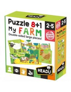 Puzzle 8+1 FarmaciaAge: 2-5