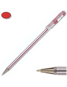 Bolígrafo pentel bk-77 rojo