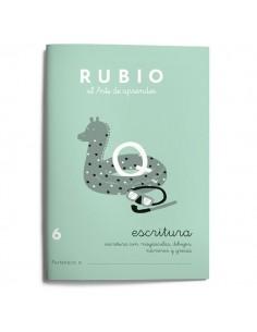 Cuadernillos Rubio escritura 6