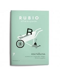 Cuadernillos Rubio escritura 7
