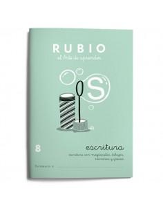 Cuadernillos Rubio escritura 8