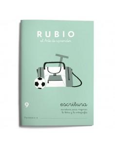 Cuadernillos Rubio escritura 9