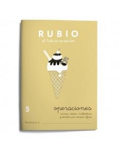 Cuaderno operaciones Rubio 5