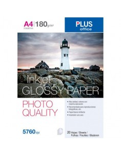 Papel plus A4 glossy paper...