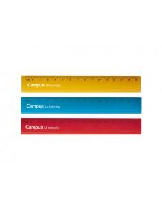 Regla metalica campus 15 cm...
