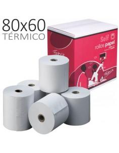 P/8 Rollos papel termico...