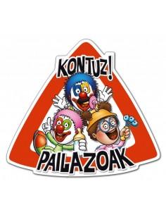 "Stickers ""KONTUZ PAILAZOAK""..."